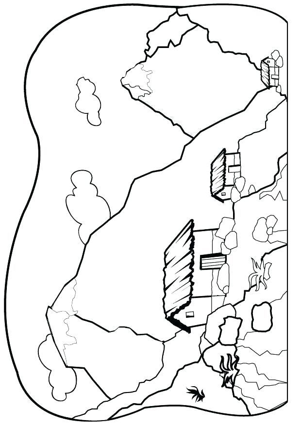 620x875 Rocky Mountains Coloring Pages Mountains Coloring Page Mountain