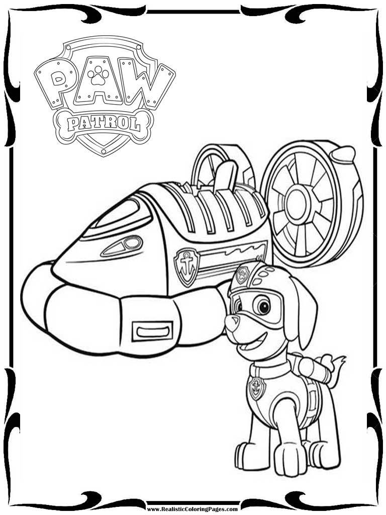 Rocky Paw Patrol Coloring Pages At Getdrawings Free Download