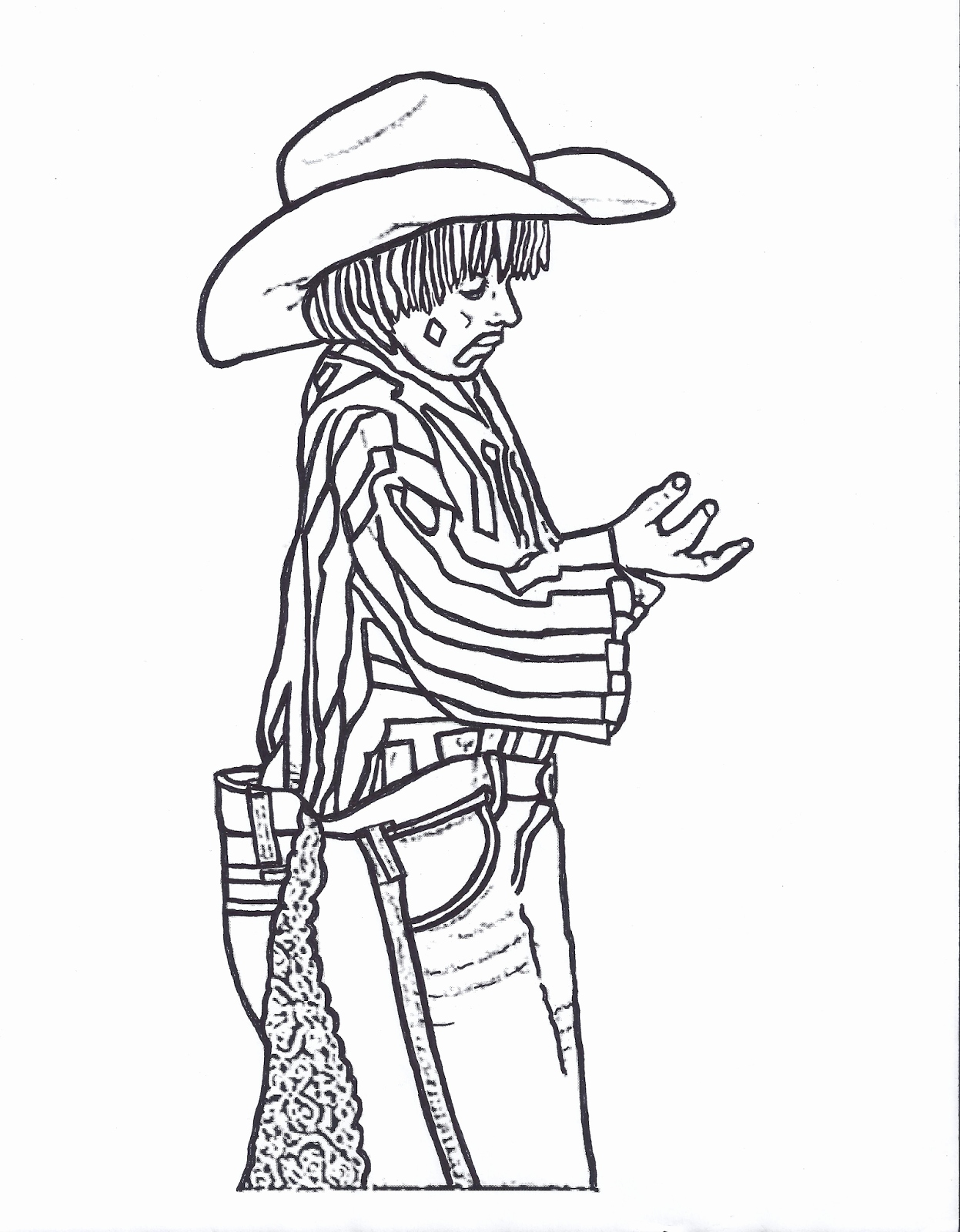 1247x1600 New Images Of Rodeo Coloring Pages