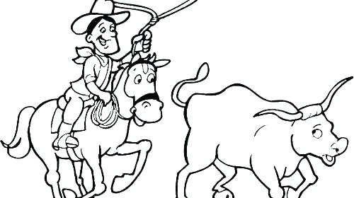 500x280 Rodeo Coloring Pages Rodeo Coloring Pages Rodeo Coloring Pages