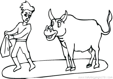 476x333 Rodeo Coloring Pages