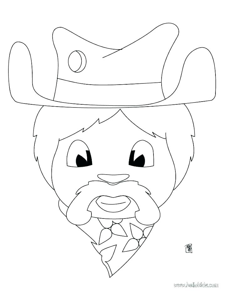 728x941 Rodeo Coloring Pages