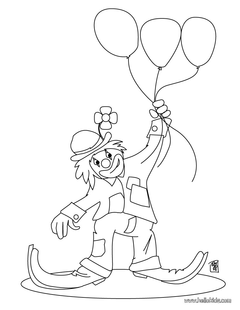 820x1060 Clown Coloring Pages Circus Fun For Adults Page Adult Rodeo Free