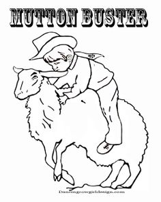 236x295 Free Printable Rodeo Events Coloring Pages Cowboycowgirl Kids