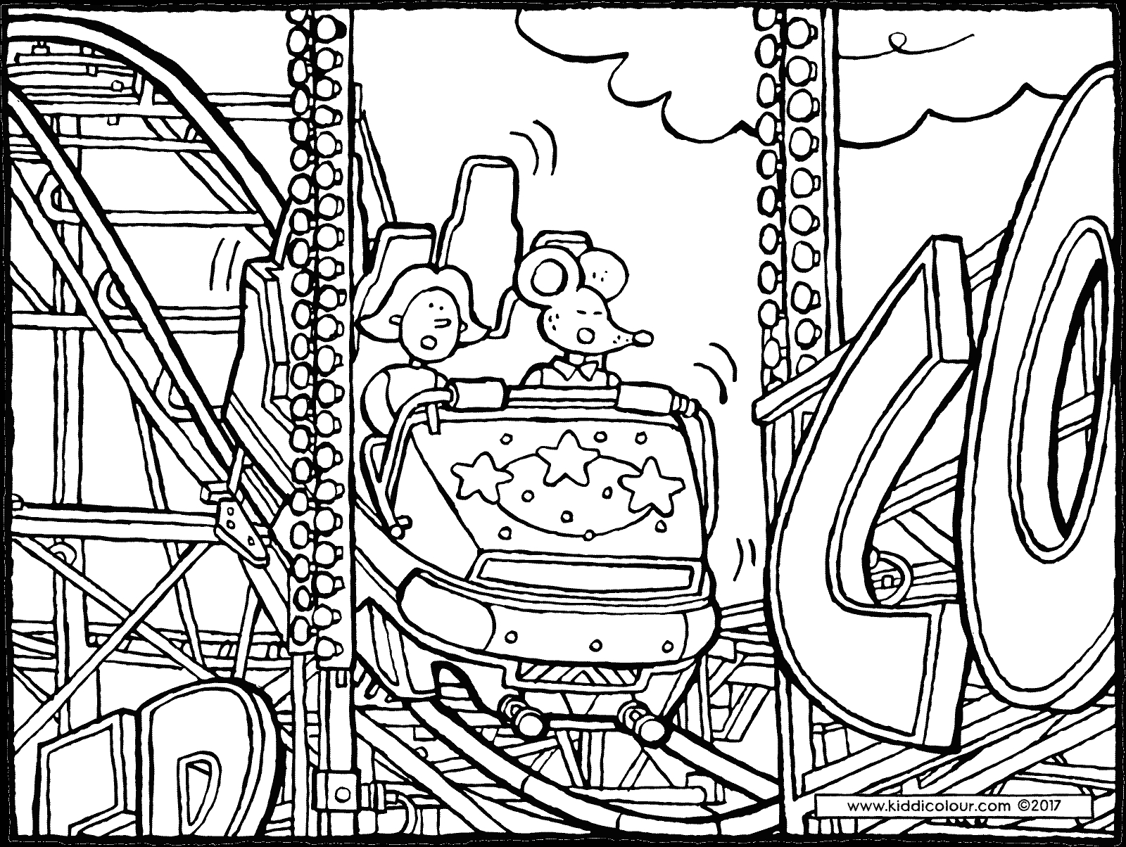 1600x1204 Quick Roller Coaster Coloring Page Pages Compilation Free