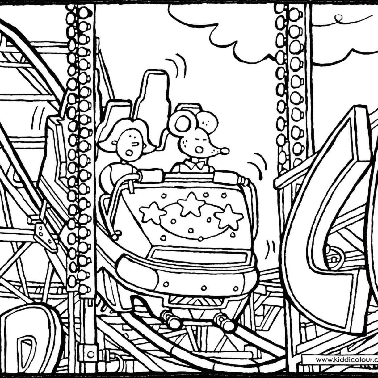1224x1224 Roller Coaster Car Coloring Page Colouring Sheets Minecraft Pages