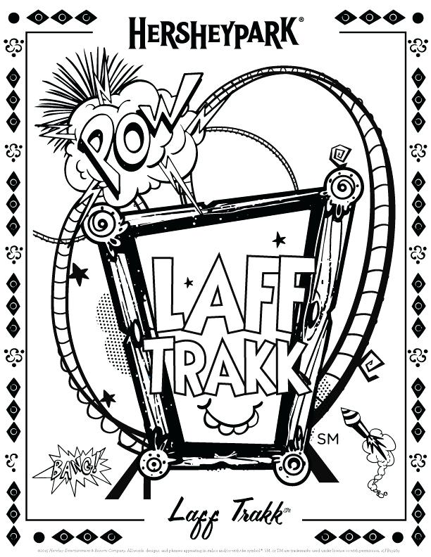 612x792 Roller Coaster Coloring Page Coloring Page Roller Coaster Coloring