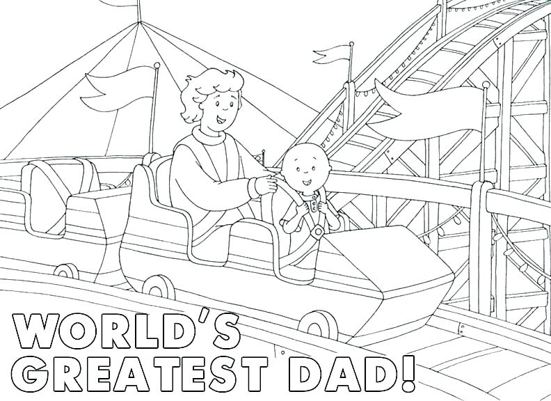 792x576 Roller Coaster Coloring Page Fathers Day Coloring Pages Pri Idea
