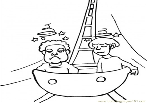 476x333 Roller Coaster Coloring Page Image Clipart Images
