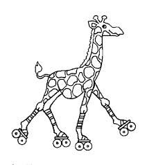 212x238 Free Colouring Pages Roller Skates