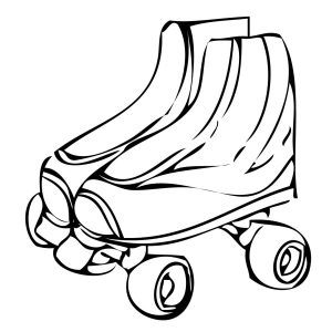300x300 Coloring Pages Of Quad Copy Fresh Roller Skate Coloring Page