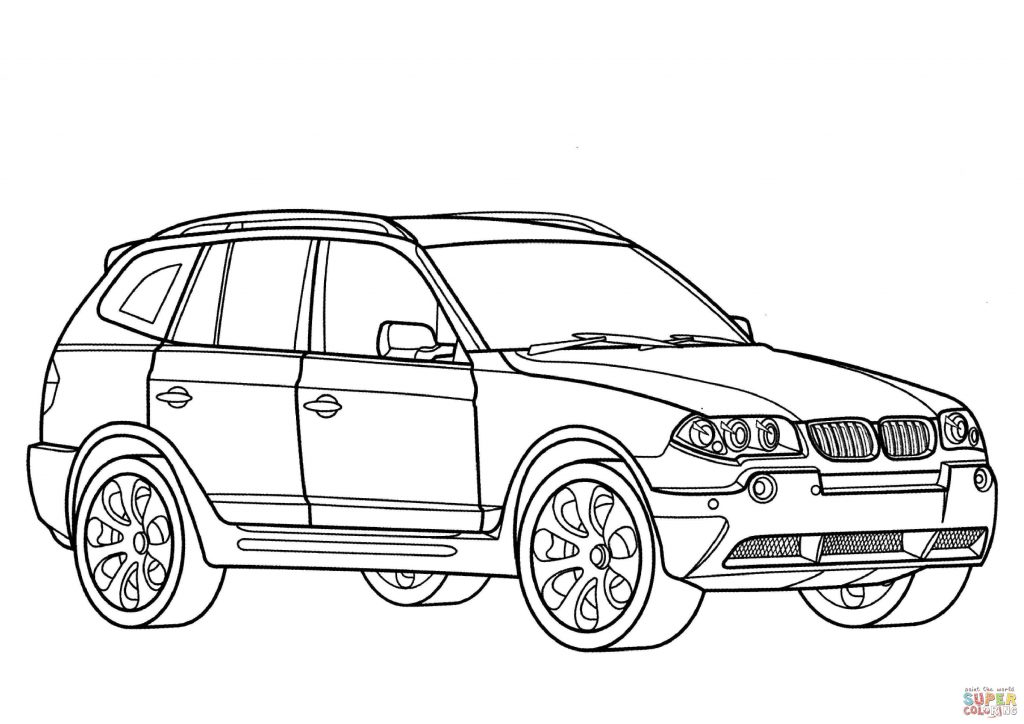 1024x724 Bmw Car Coloring Page