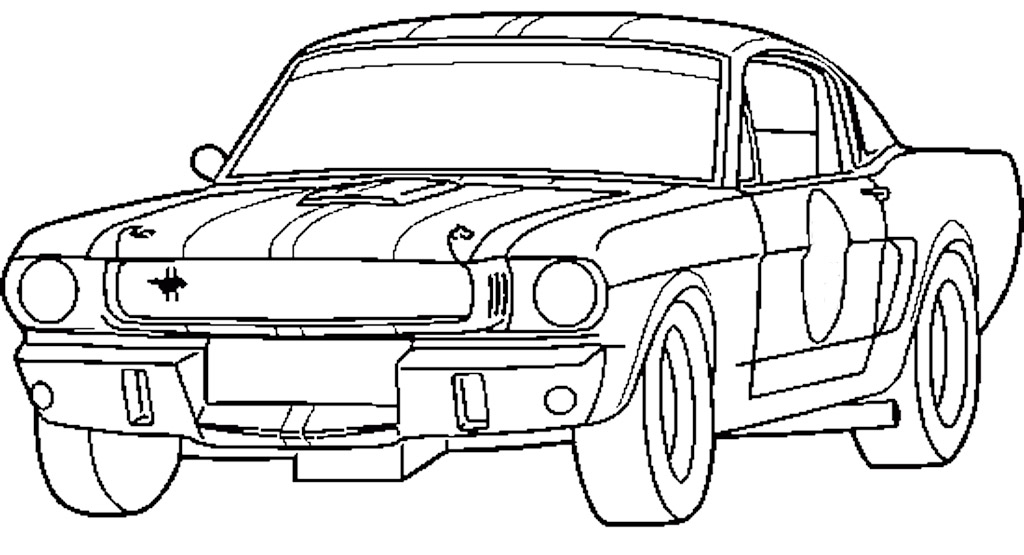 1024x555 Cars And Trucks Coloring Pages
