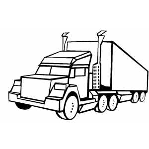 300x300 Cars And Trucks Coloring Pages