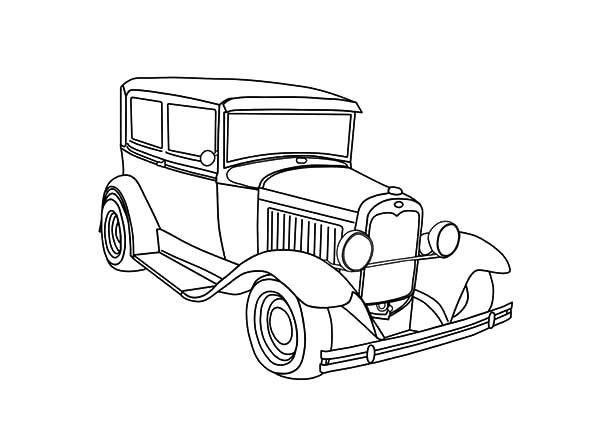 600x429 Expensive Antique Car Coloring Pages Best Place To Color