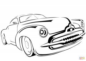 300x212 Rolls Royce Car Coloring Page