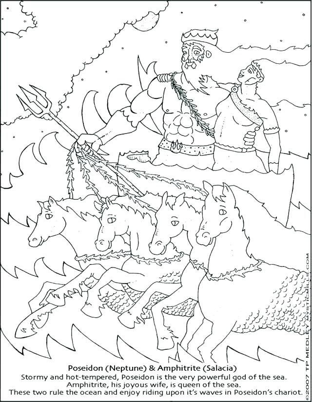 640x825 Poseidon Coloring Pages Coloring Pages Roman Empire Coloring Pages