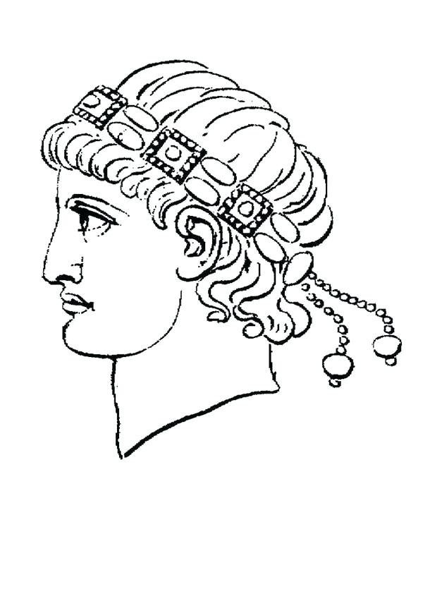 600x849 Roman Empire Coloring Pages