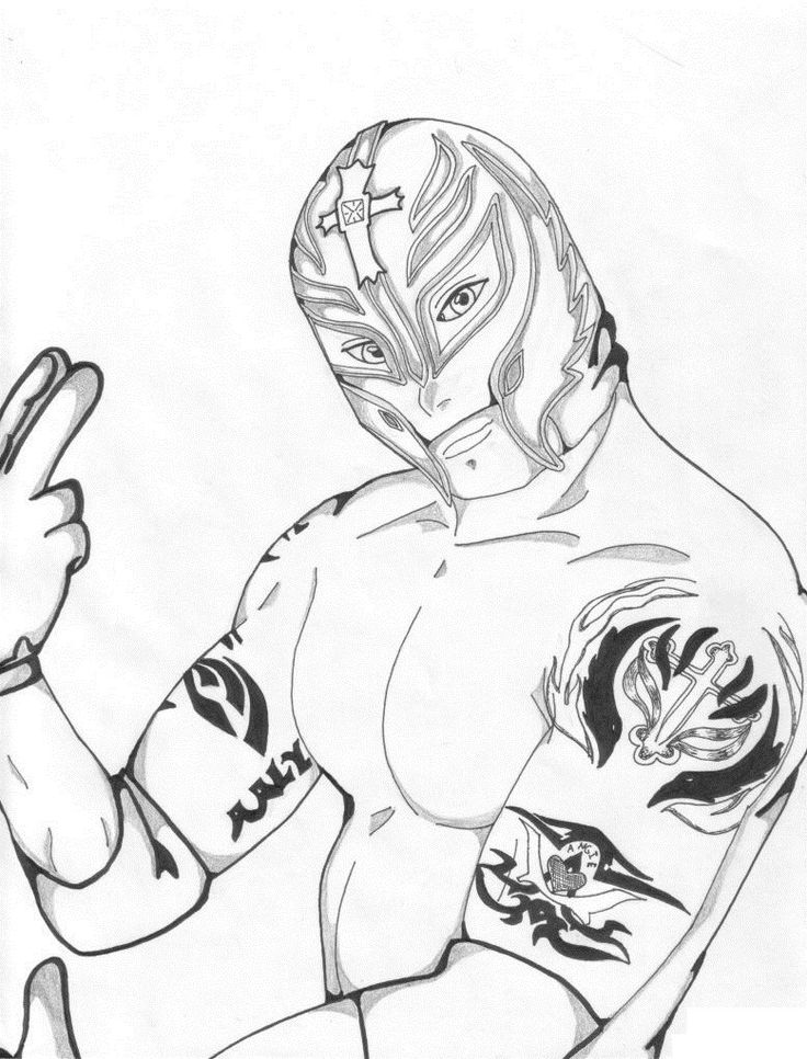 736x966 Best Wwe Coloring Images On Coloring Pages, Wwe