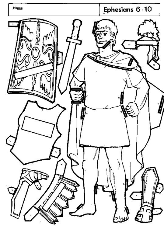 539x756 Roman Soldier Armor Of God Coloring Page Bible Armor Of God