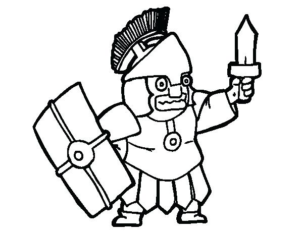 600x470 Soldier Coloring Page Frightened Soldier Coloring Page Roman