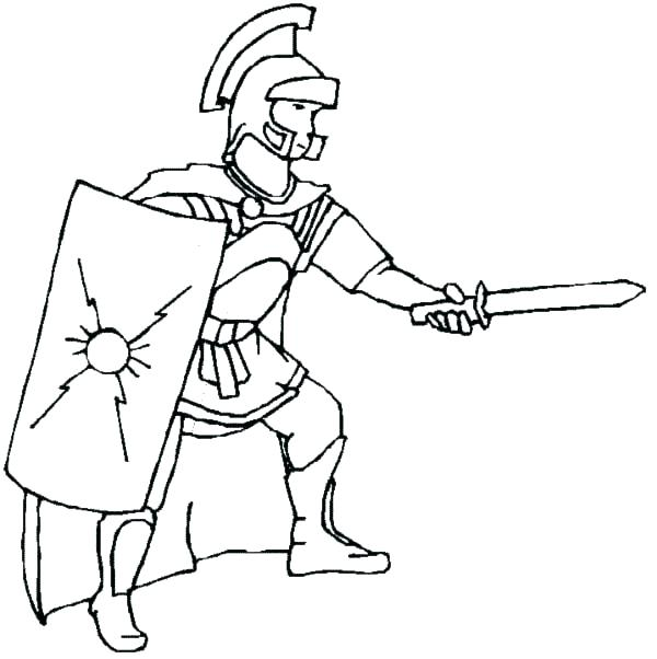 600x602 Soldier Coloring Page Soldier Coloring Page Roman Coloring Pages
