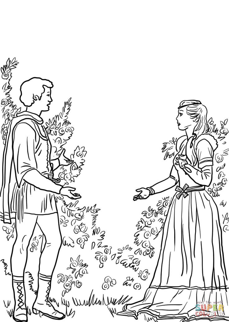 Romeo Coloring Pages