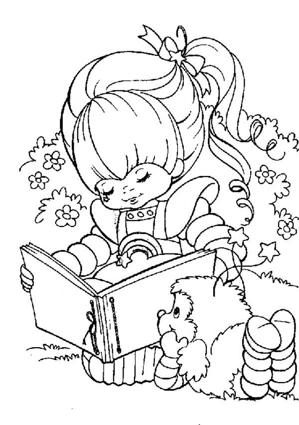 600x852 Rainbow Brite With Romeo Coloring Page