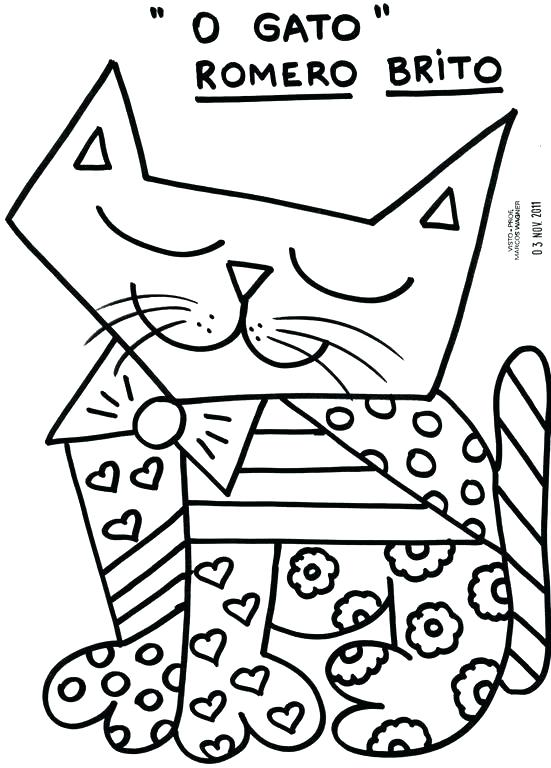 551x768 Romero Britto Coloring Pages Coloring Pages Coloring Page Coloring