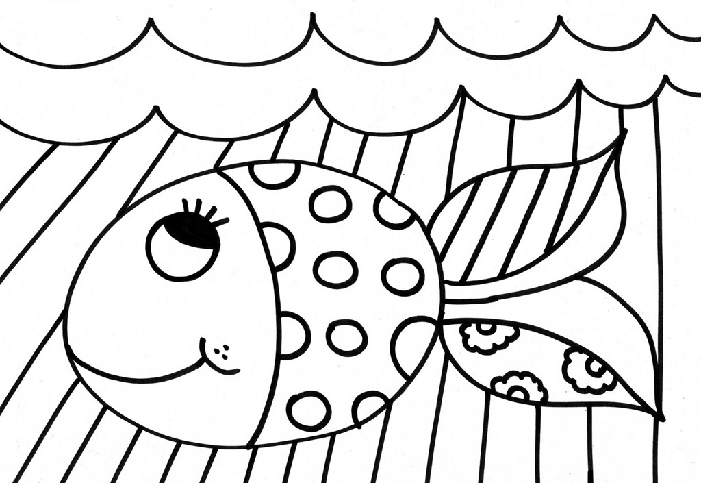Romero Britto Coloring Pages At Getdrawings Free Download