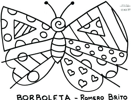 450x344 Romero Britto Coloring Pages Coloring Pages Coloring Pages Cute