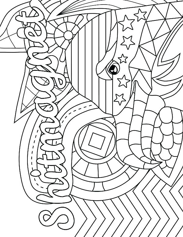 600x777 Romero Britto Coloring Pages Swearing Adult Coloring Pages