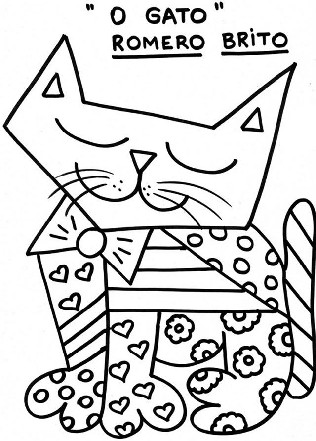 640x892 Britto Coloring Pages