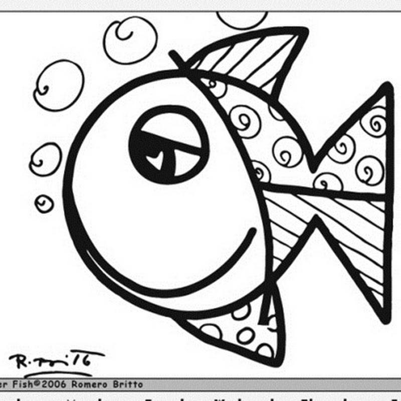 800x800 Desenhos Do Romero Britto Kuvis Crafts