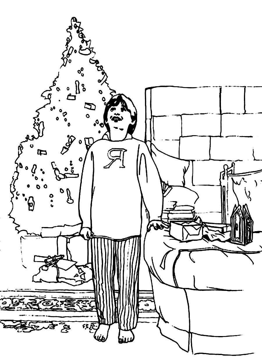 Ron Weasley Coloring Pages
