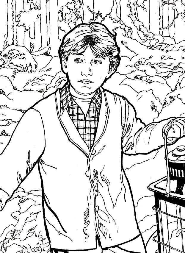 Ron Weasley Coloring Pages at GetDrawings | Free download