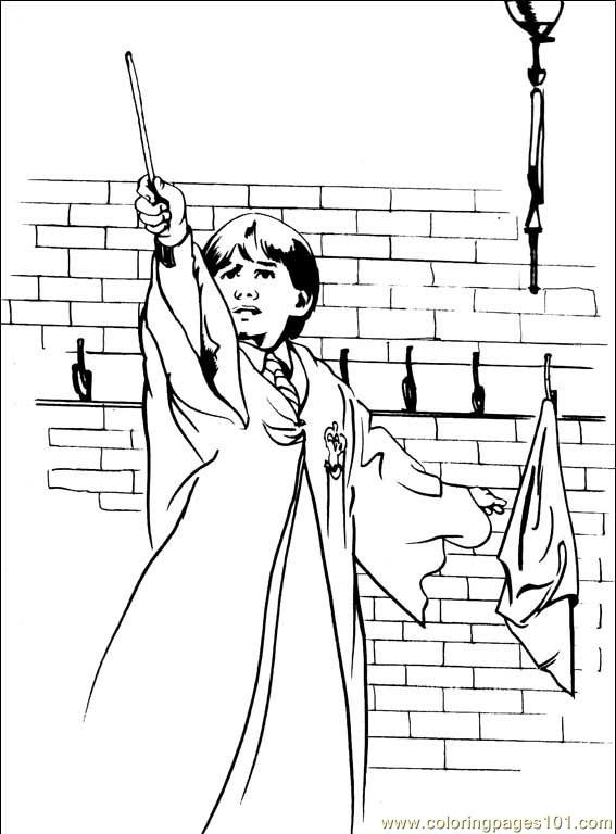 Ron Weasley Coloring Pages At Getdrawings Com Free For Personal