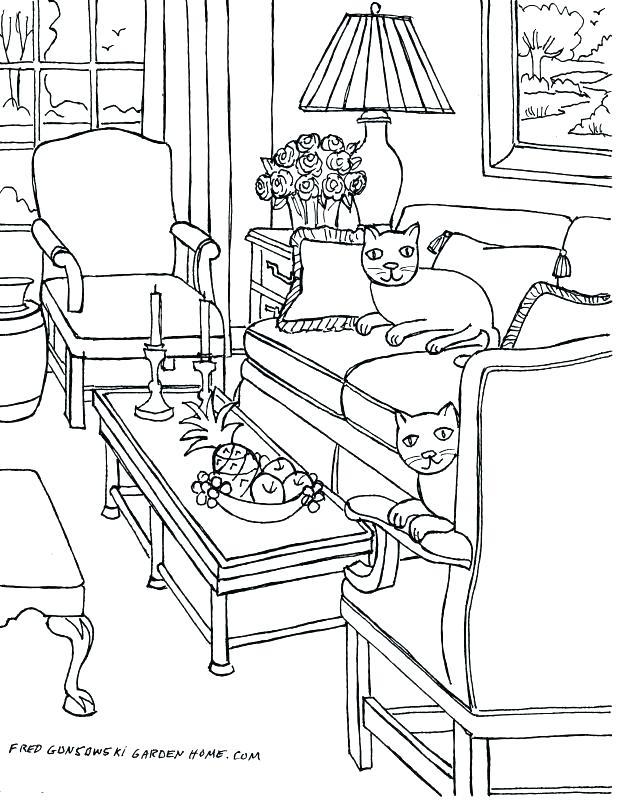 618x800 Bedroom Coloring Pages Bedroom Coloring Pages Inspiring Bedroom