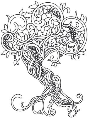 300x405 Coloring Page World Gossamer Woods