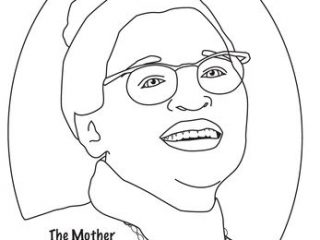 Rosa Parks Coloring Page at GetDrawings.com | Free for personal use ...