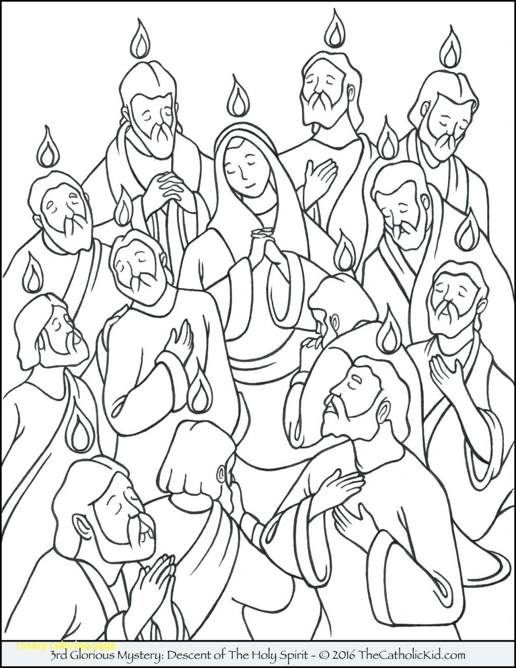 Rosary Beads Coloring Page At Getdrawings Com Free For Personal