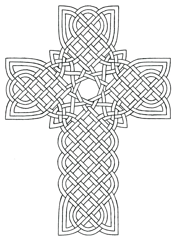 736x1007 Crosses With Roses Coloring Pages And Rose Coloring Page Rose