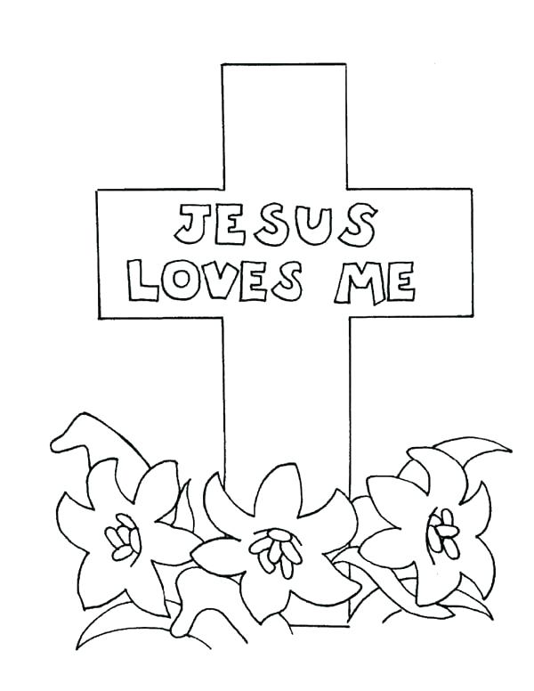 600x776 Rose Cross Coloring Page Best Coloring Pages Of Crosses