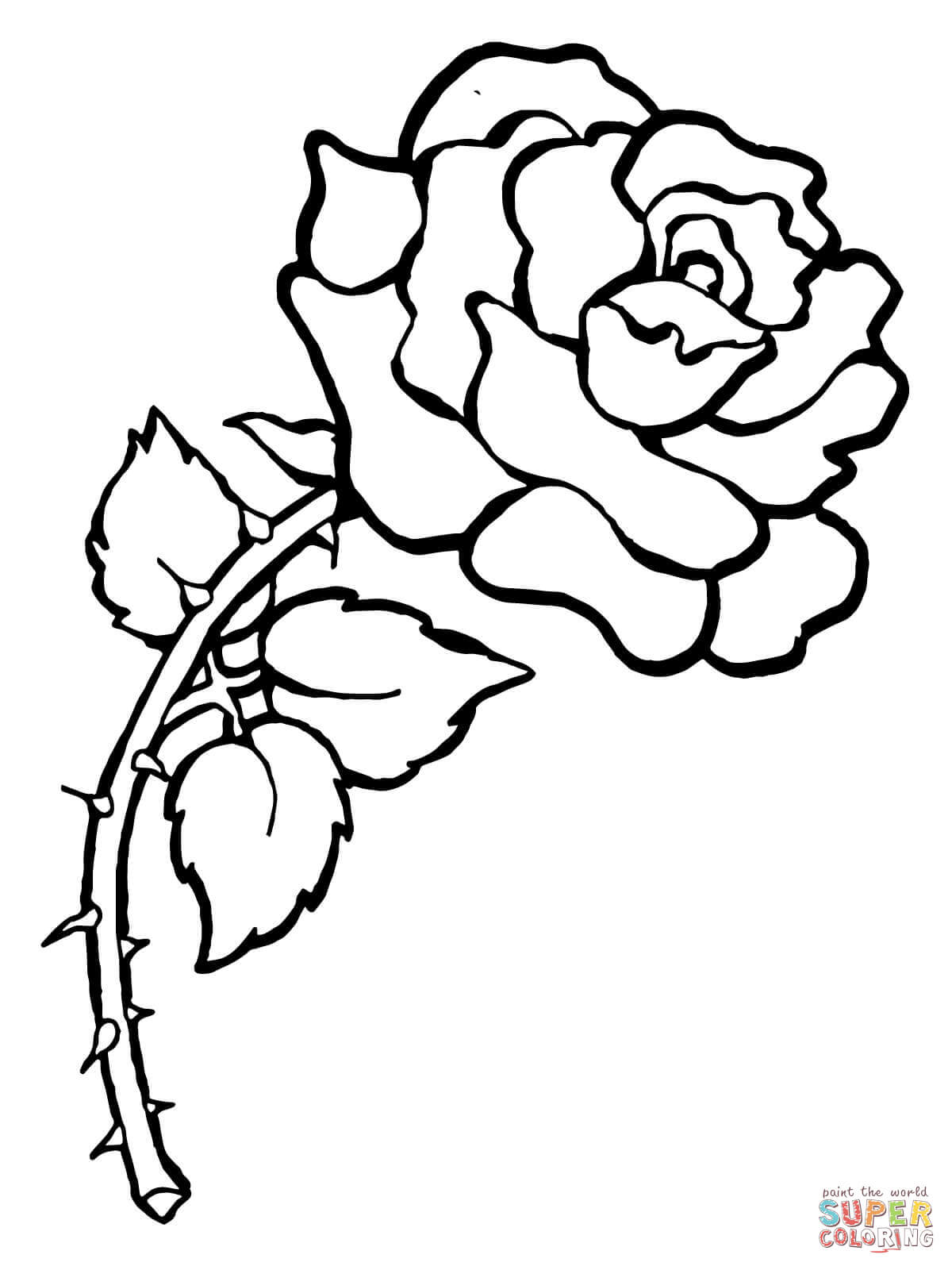 1200x1600 Rose Coloring Pages Free Coloring Sheets