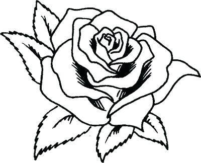 400x324 Printable Rose Coloring Pages Rose Coloring Page Printable Free