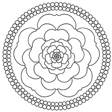 230x230 Top Free Printable Beautiful Rose Coloring Pages For Kids