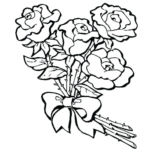 600x600 Outstanding Coloring Page Rose Free Valentines Day Coloring Pages