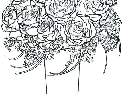 440x330 Roses Coloring Pages Top Rated Rose Coloring Page Images Coloring
