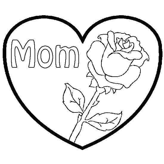 Rose Flower Coloring Pages At Getdrawings Free Download