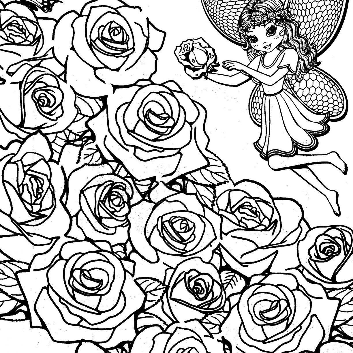 1224x1224 Best Of Flower Garden Coloring Pages Gallery Printable Coloring